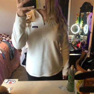 Patagonia white long sleeve